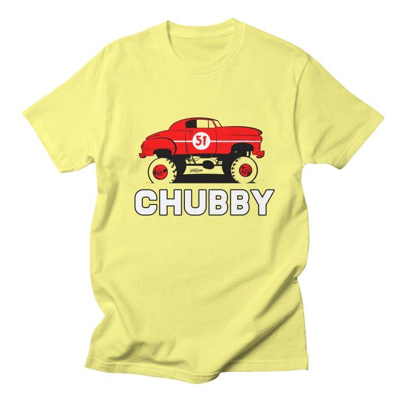 Chubby Men's Regular T-Shirt by Krishna Designs
