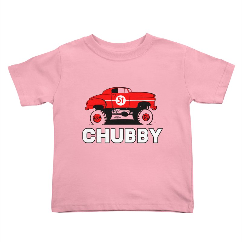 Chubby Kids Toddler T-Shirt by Krishna Designs