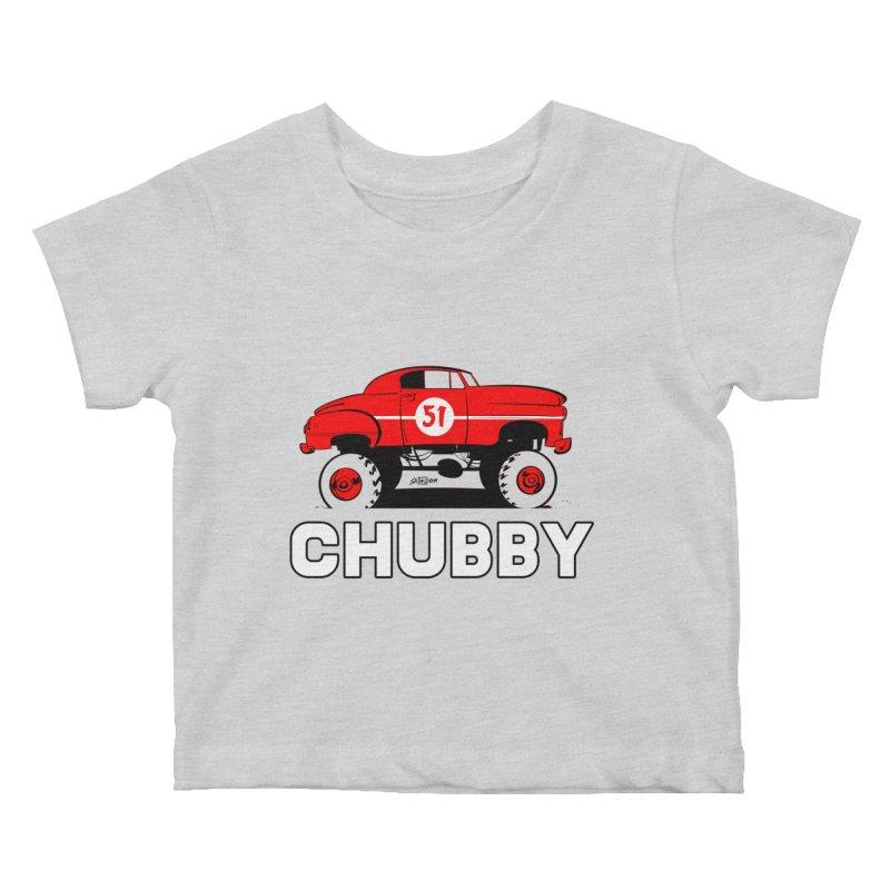 Chubby Kids Baby T-Shirt by Krishna Designs