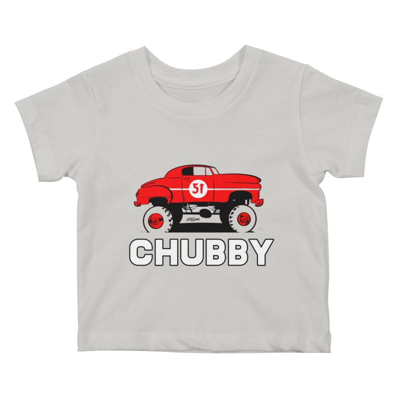 Chubby Kids Baby T-Shirt by Krishna Designs