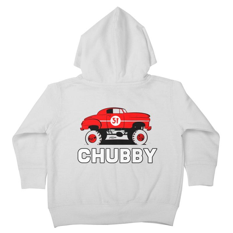 Chubby Kids Toddler Zip-Up Hoody by Krishna Designs
