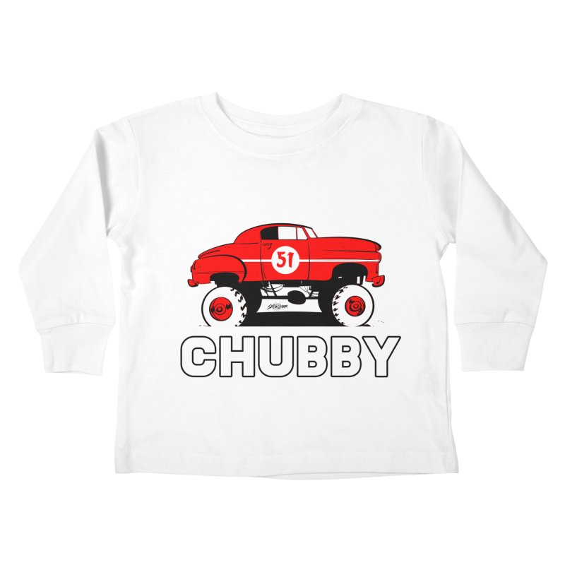 Chubby Kids Toddler Longsleeve T-Shirt by Krishna Designs
