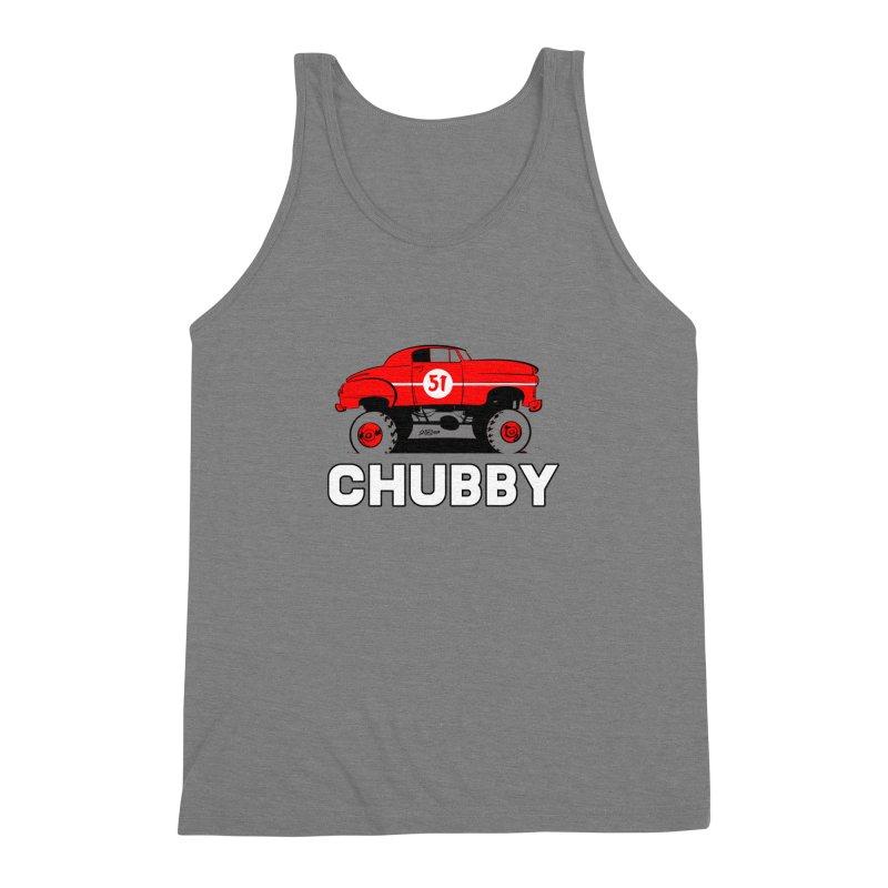 Chubby Men's Triblend Tank by Krishna Designs