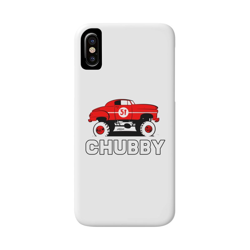 Chubby Accessories Phone Case by Krishna Designs