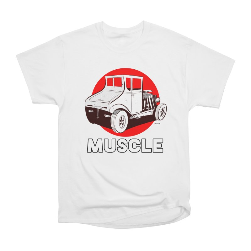Muscle Women's Heavyweight Unisex T-Shirt by Krishna Designs