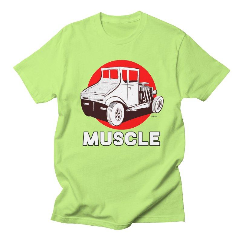 Muscle Women's Unisex T-Shirt by Krishna Designs