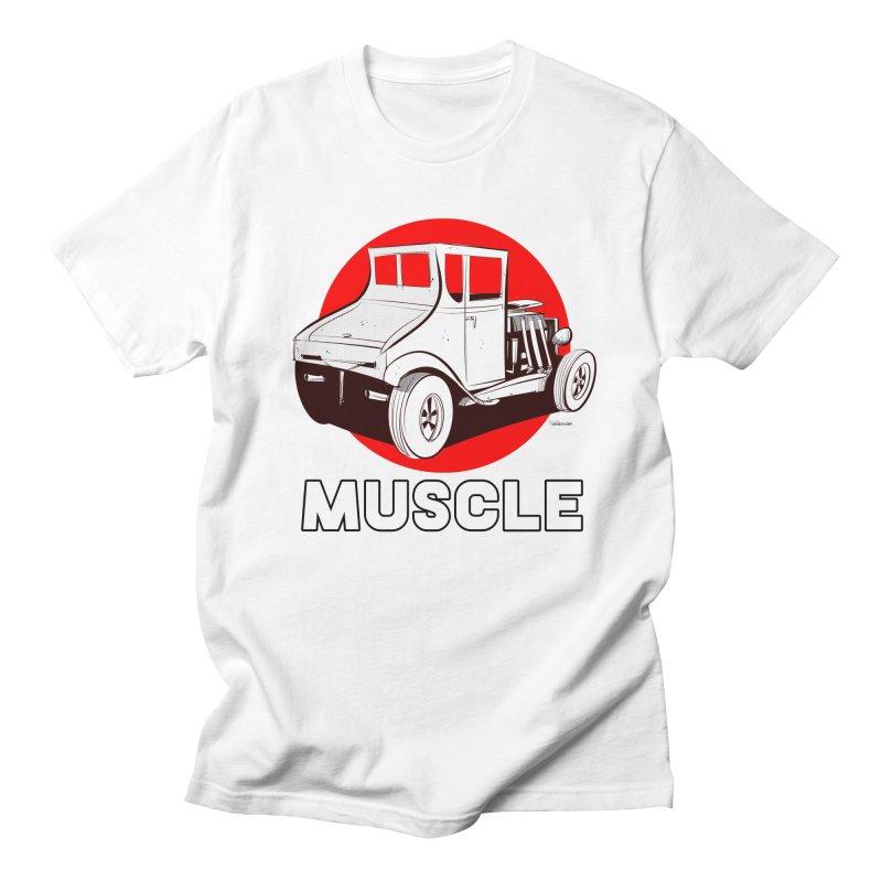 Muscle Women's Regular Unisex T-Shirt by Krishna Designs