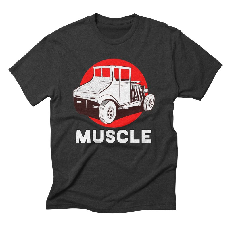 Muscle Men's Triblend T-Shirt by Krishna Designs