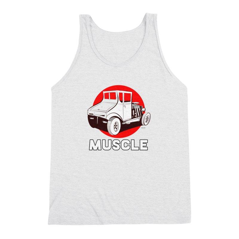 Muscle Men's Triblend Tank by Krishna Designs