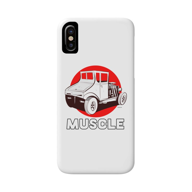 Muscle Accessories Phone Case by Krishna Designs