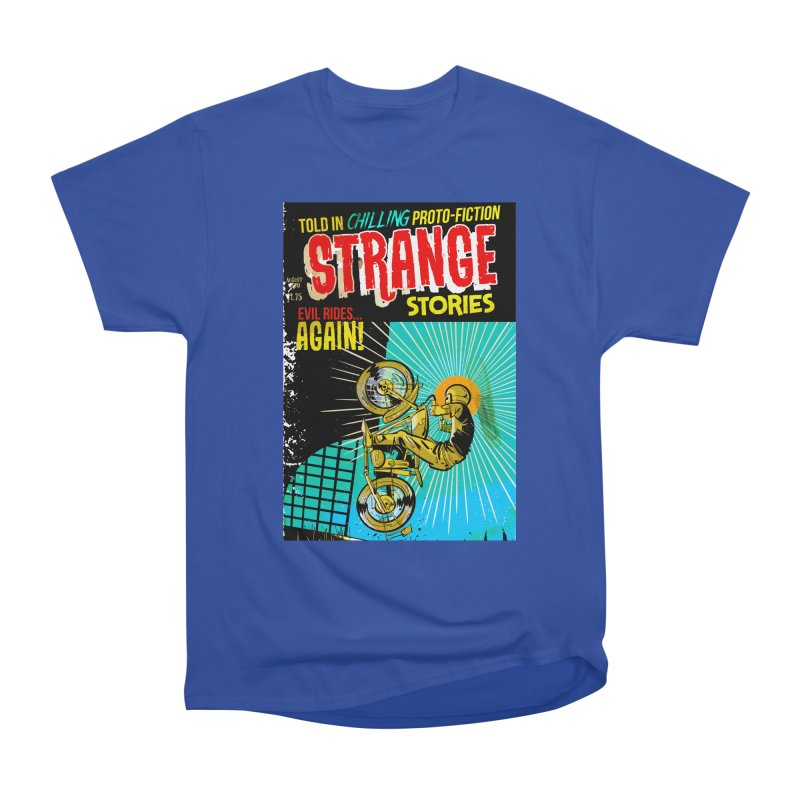 Strange Stories Women's Heavyweight Unisex T-Shirt by Krishna Designs