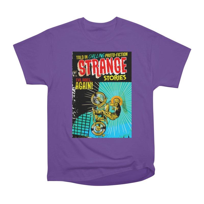 Strange Stories Men's Heavyweight T-Shirt by Krishna Designs