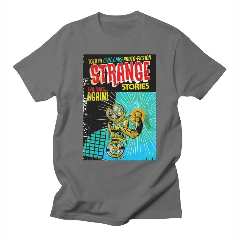 Strange Stories Women's Regular Unisex T-Shirt by Krishna Designs