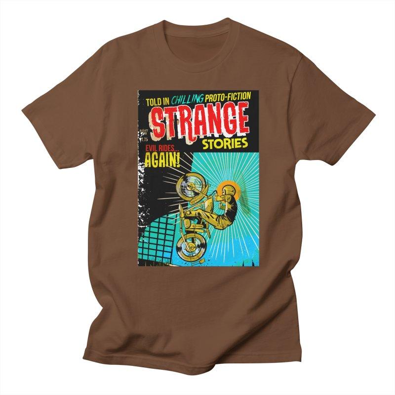 Strange Stories Men's Regular T-Shirt by Krishna Designs