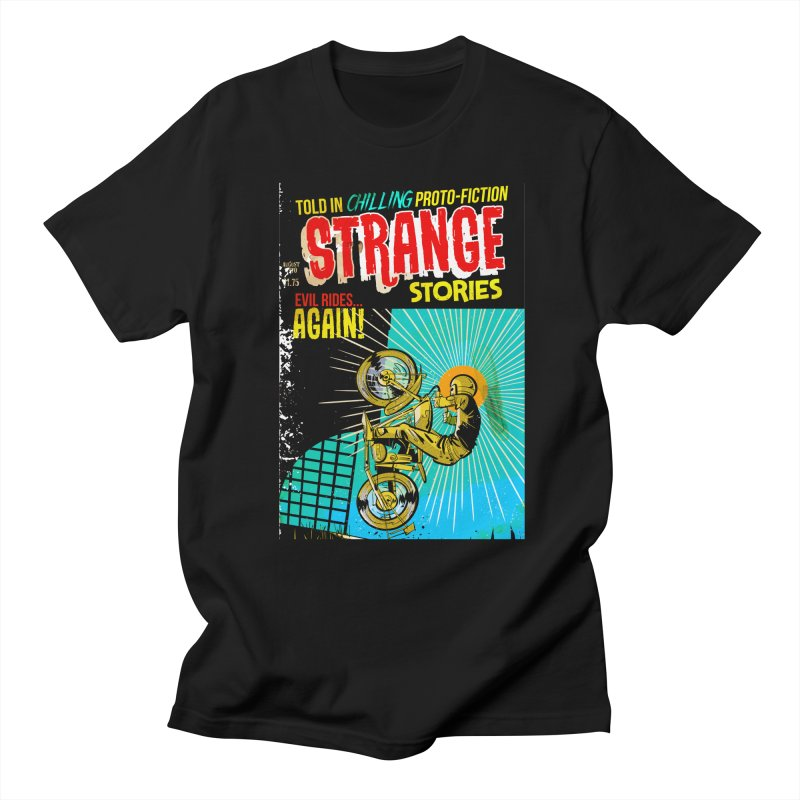 Strange Stories Men's T-Shirt by Krishna Designs