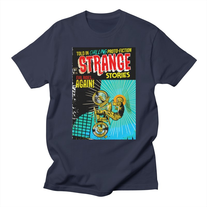 Strange Stories Men's Regular T-Shirt by Krishna Designs