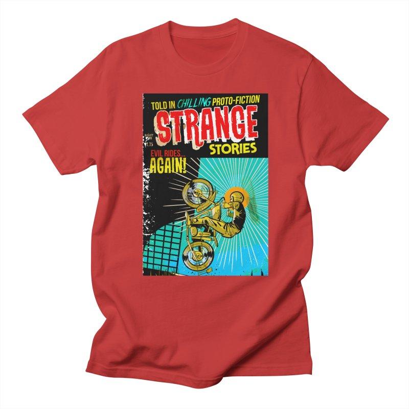 Strange Stories Women's Regular Unisex T-Shirt by Krishna Designs