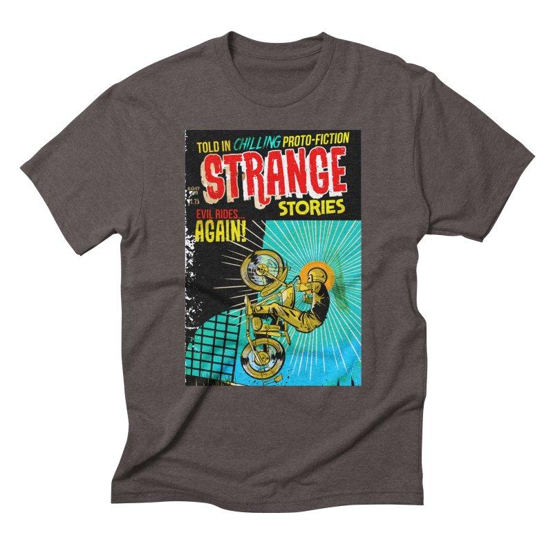 Strange Stories Men's Triblend T-Shirt by Krishna Designs