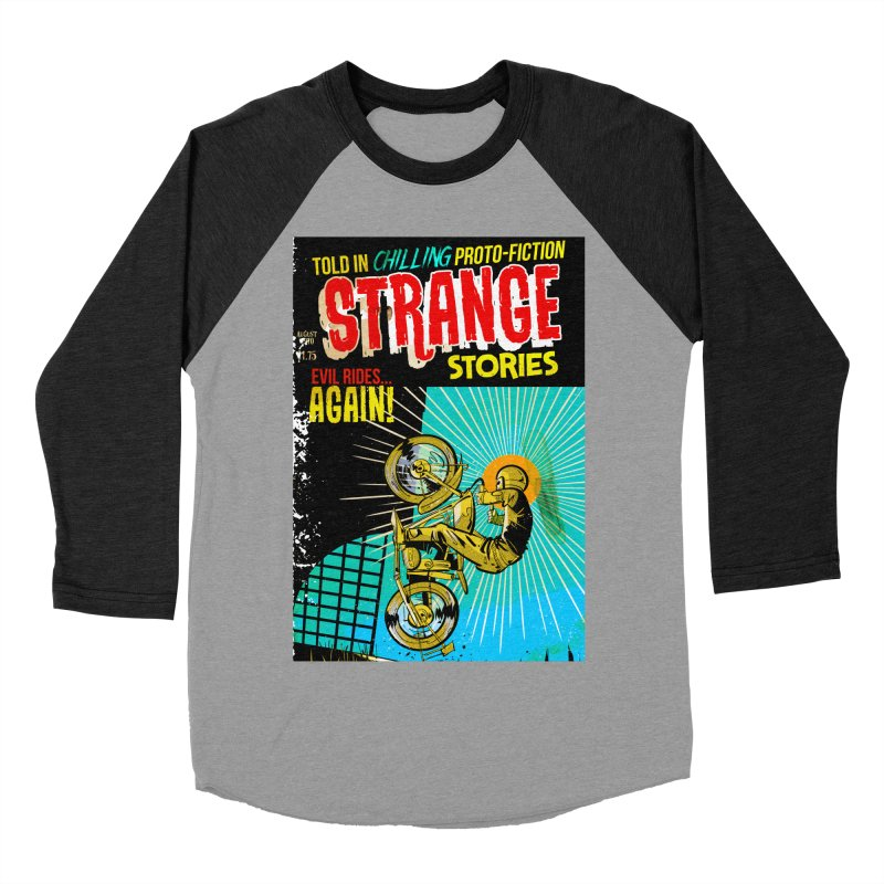Strange Stories Men's Baseball Triblend T-Shirt by Krishna Designs
