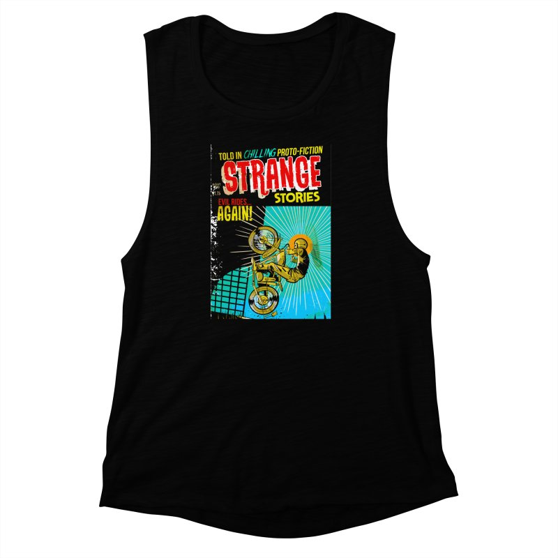 Strange Stories Women's Muscle Tank by Krishna Designs