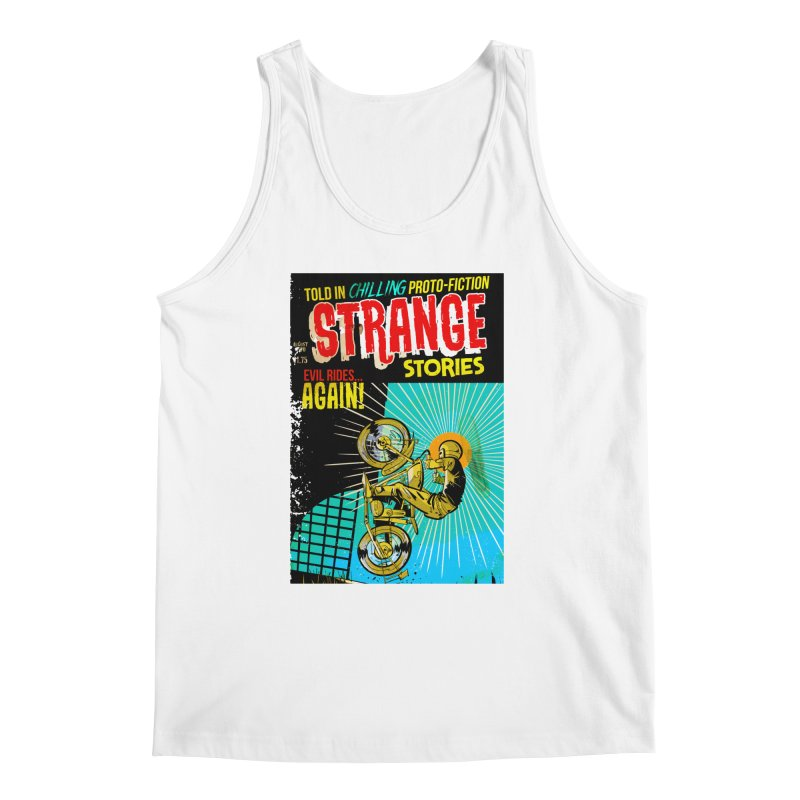 Strange Stories Men's Regular Tank by Krishna Designs