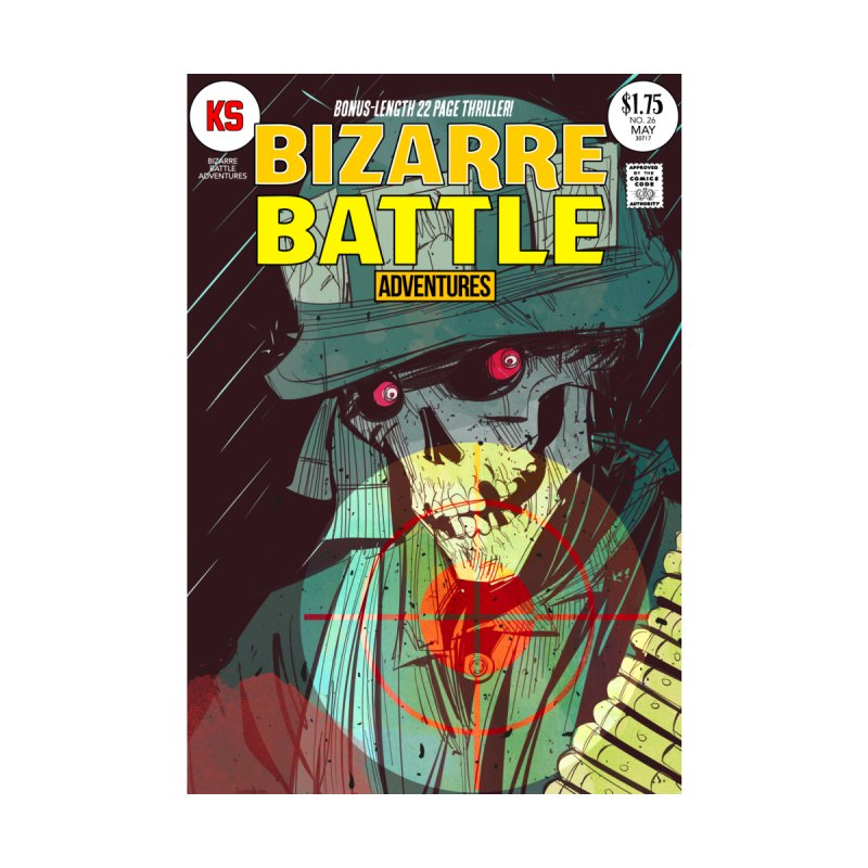 Bizarre Battle Adventures Cover art by Krishna Designs