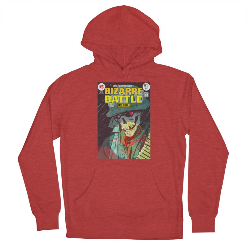 Bizarre Battle Adventures Cover art Men's Pullover Hoody by Krishna Designs
