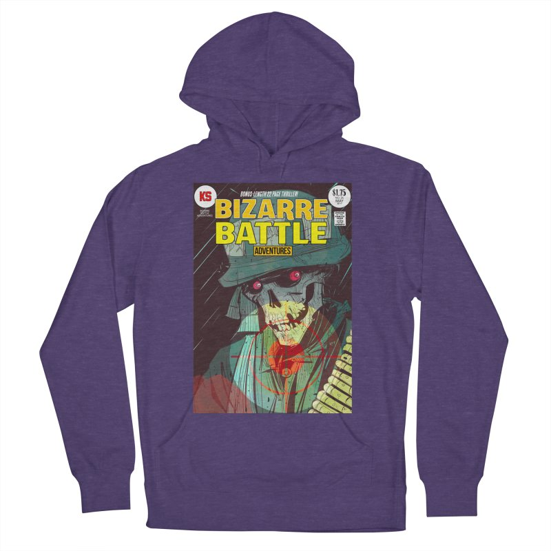 Bizarre Battle Adventures Cover art Men's Pullover Hoody by Krishna Designs