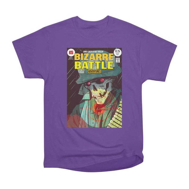 Bizarre Battle Adventures Cover art Men's Heavyweight T-Shirt by Krishna Designs