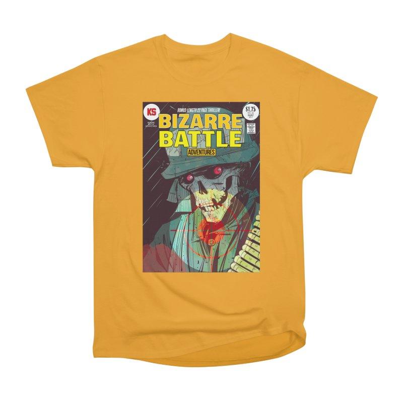 Bizarre Battle Adventures Cover art Women's T-Shirt by Krishna Designs