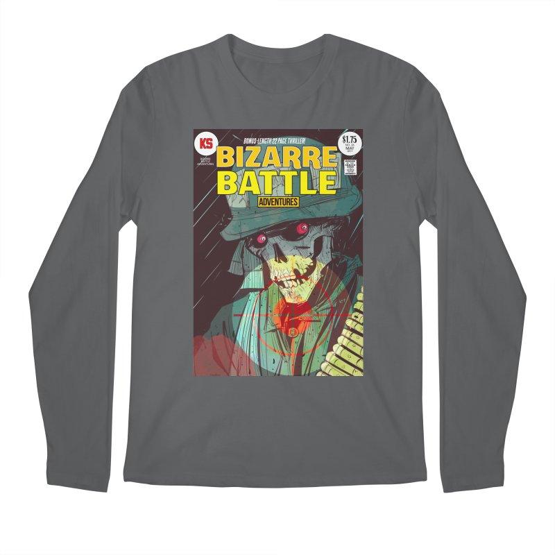 Bizarre Battle Adventures Cover art Men's Longsleeve T-Shirt by Krishna Designs