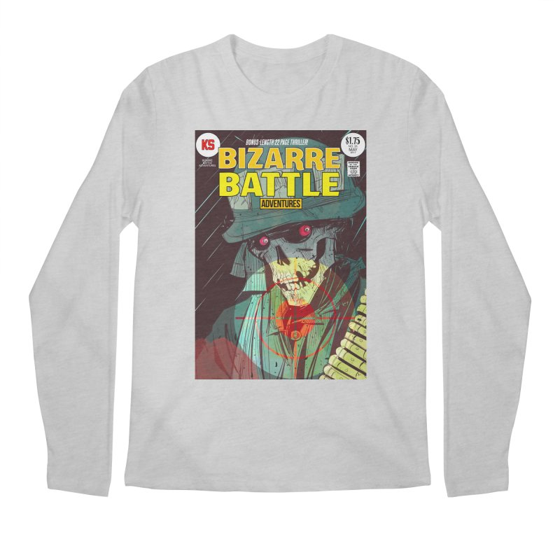Bizarre Battle Adventures Cover art Men's Regular Longsleeve T-Shirt by Krishna Designs