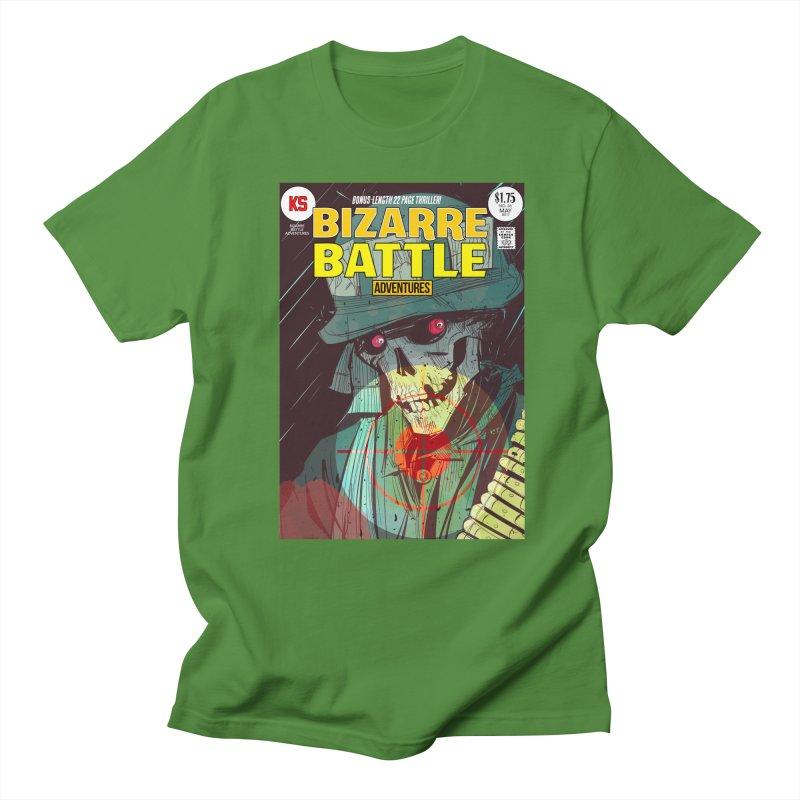 Bizarre Battle Adventures Cover art Men's Regular T-Shirt by Krishna Designs