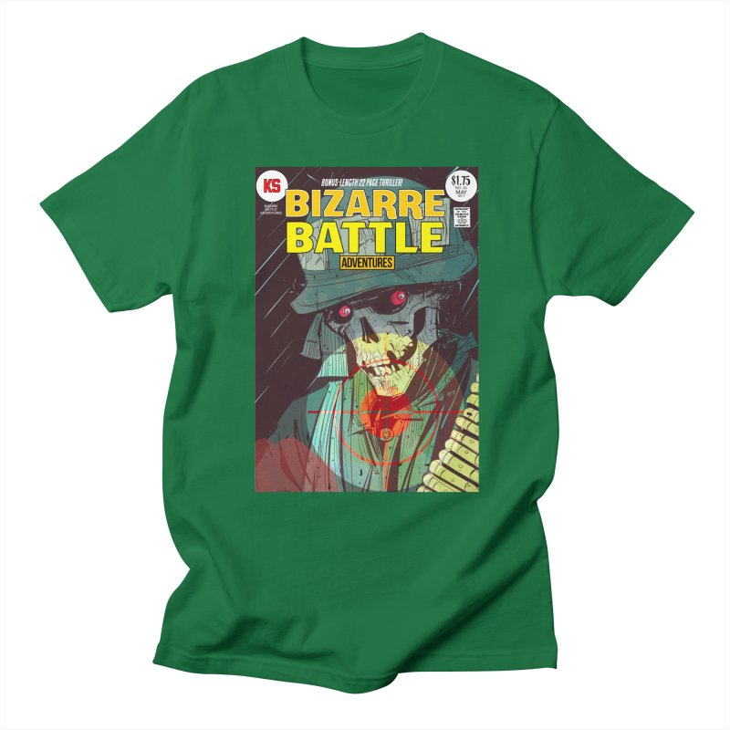 Bizarre Battle Adventures Cover art Men's Regular T-Shirt by Krishna Designs