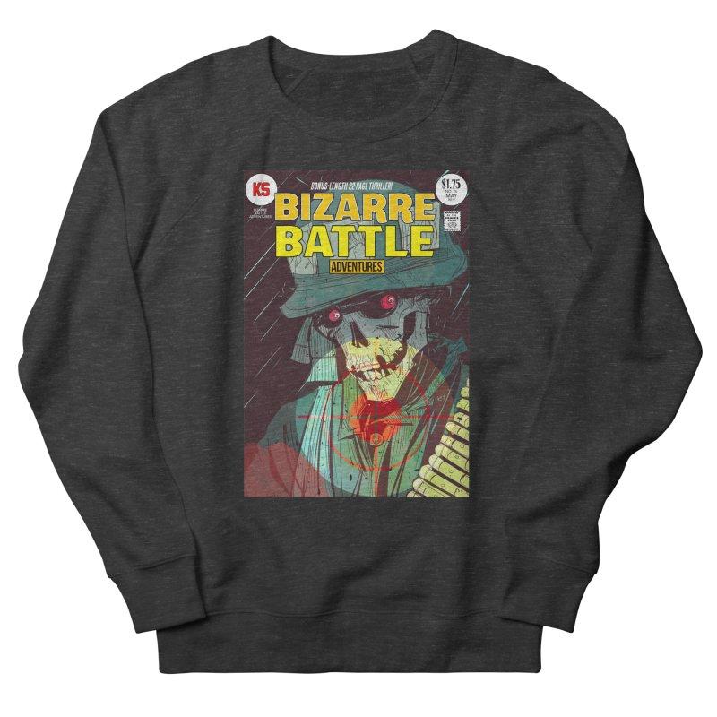Bizarre Battle Adventures Cover art Women's French Terry Sweatshirt by Krishna Designs