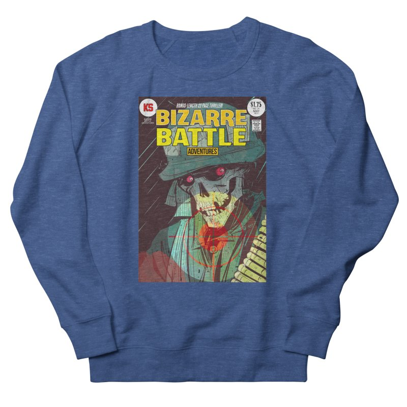 Bizarre Battle Adventures Cover art Women's French Terry Sweatshirt by Krishna Designs