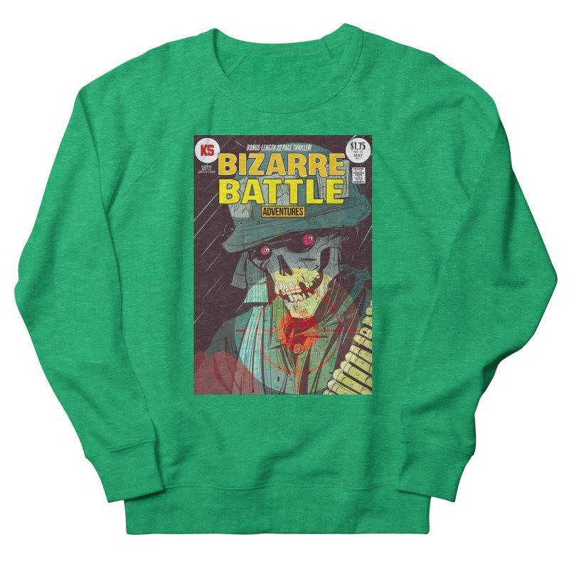 Bizarre Battle Adventures Cover art Men's French Terry Sweatshirt by Krishna Designs