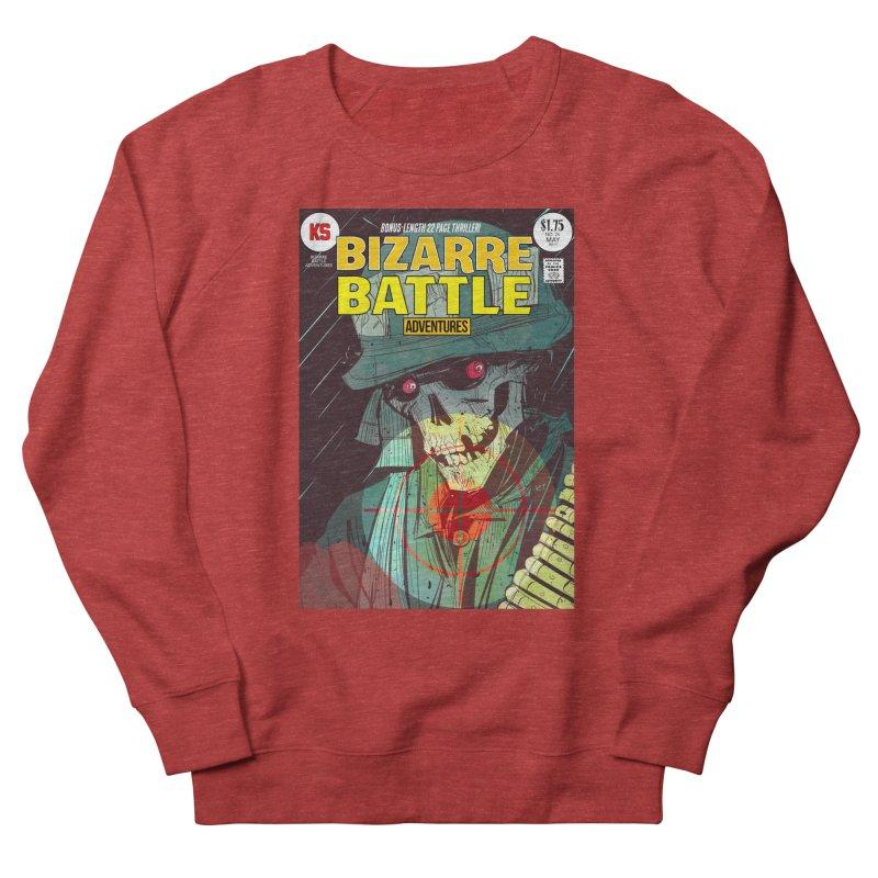 Bizarre Battle Adventures Cover art Men's Sweatshirt by Krishna Designs