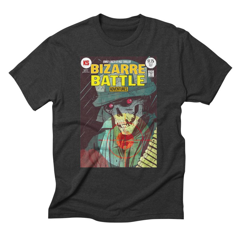 Bizarre Battle Adventures Cover art Men's T-Shirt by Krishna Designs