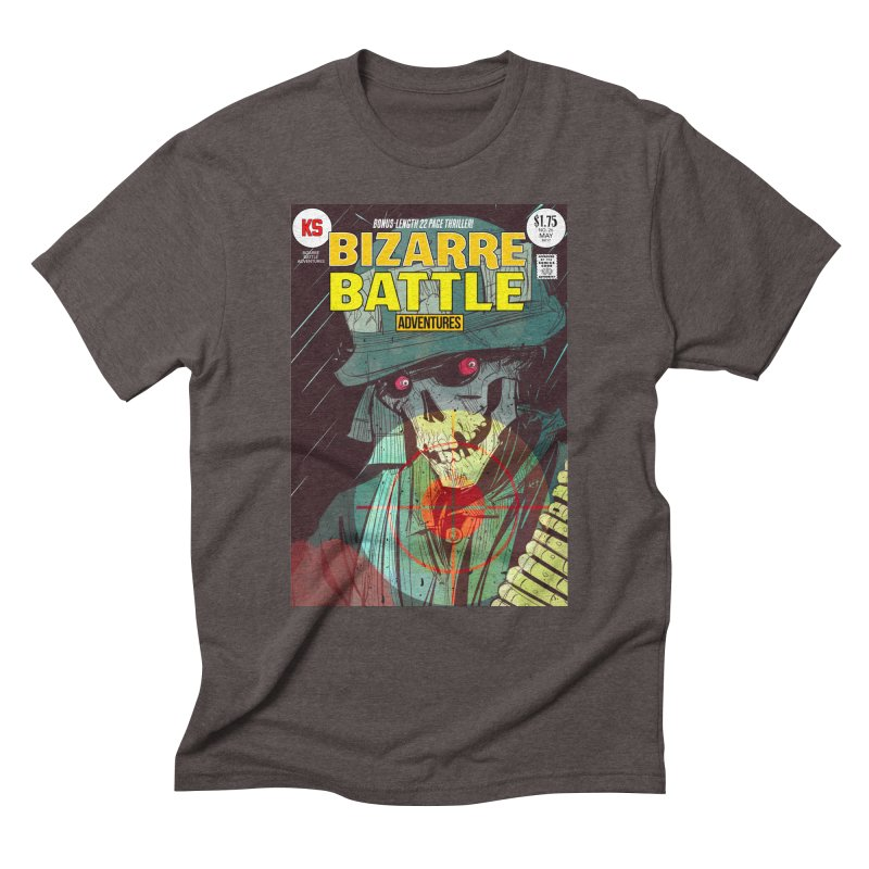 Bizarre Battle Adventures Cover art Men's T-Shirt by Krishna Designs