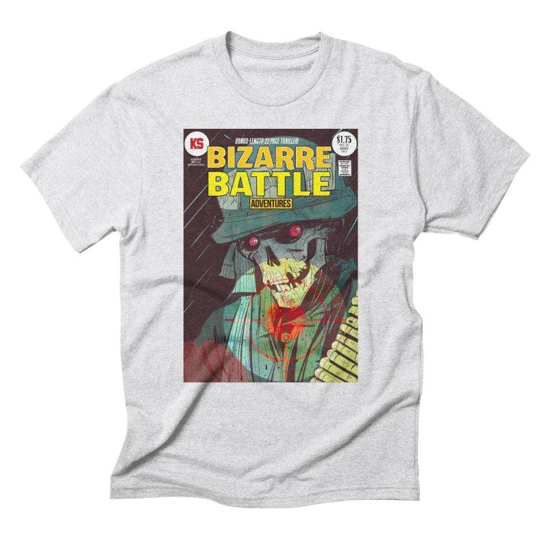Bizarre Battle Adventures Cover art Men's Triblend T-Shirt by Krishna Designs
