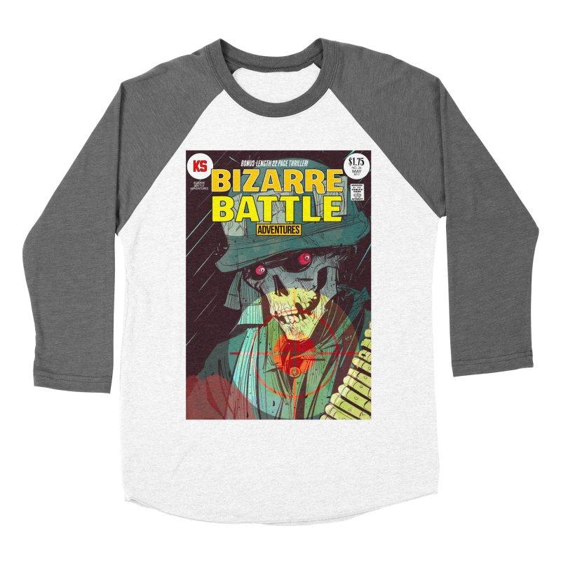 Bizarre Battle Adventures Cover art Women's Longsleeve T-Shirt by Krishna Designs