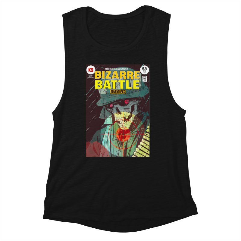 Bizarre Battle Adventures Cover art Women's Tank by Krishna Designs