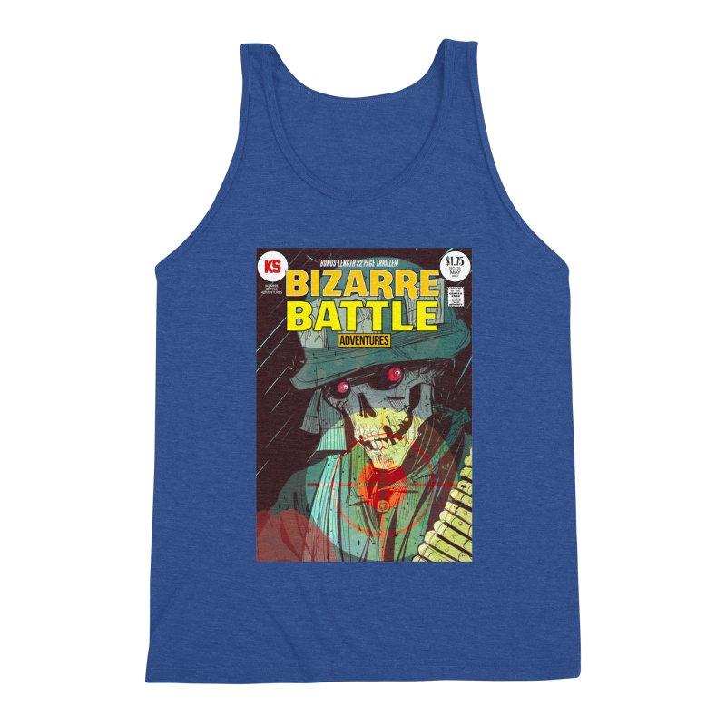 Bizarre Battle Adventures Cover art Men's Tank by Krishna Designs