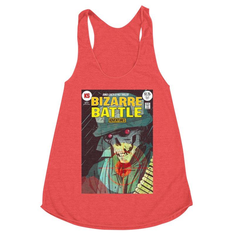 Bizarre Battle Adventures Cover art Women's Tank by Krishna Designs