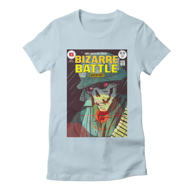 Bizarre Battle Adventures Cover art Women's T-Shirt by Krishna Designs