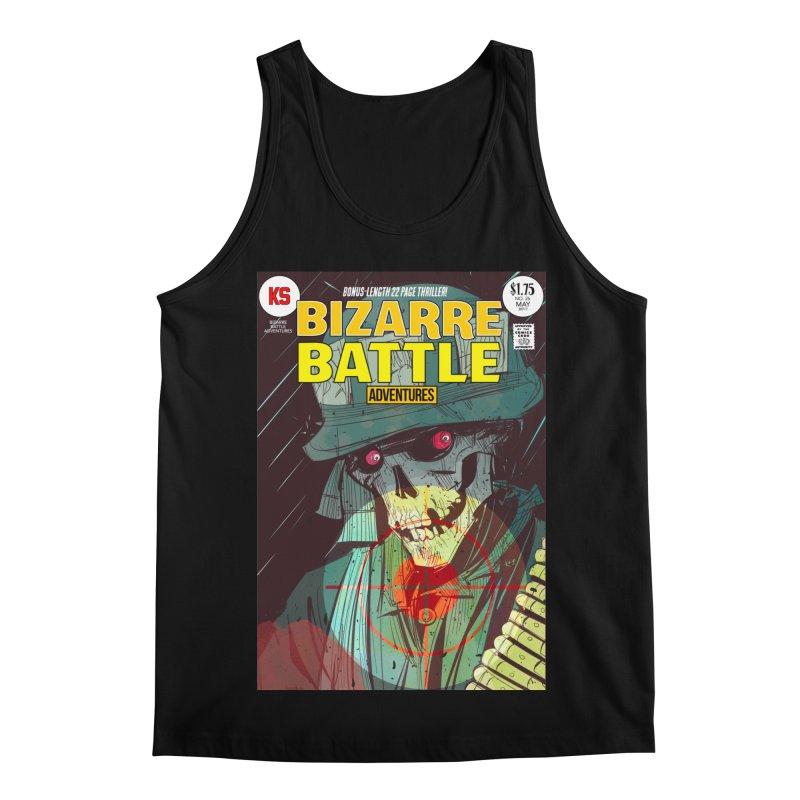 Bizarre Battle Adventures Cover art Men's Regular Tank by Krishna Designs