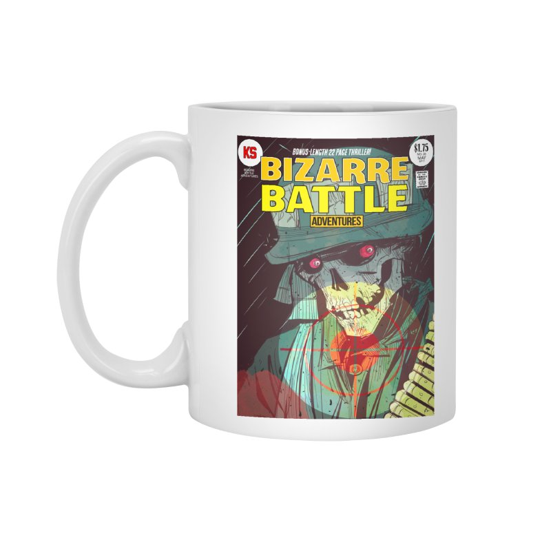 Bizarre Battle Adventures Cover art Accessories Standard Mug by Krishna Designs