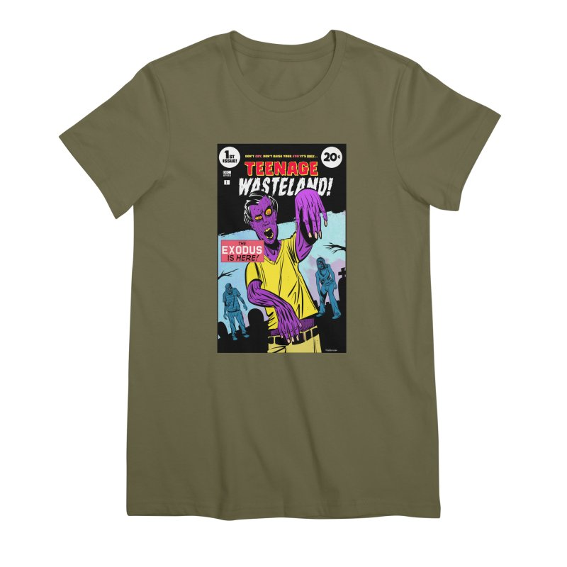 Teenage Wasteland Women's Premium T-Shirt by Krishna Designs