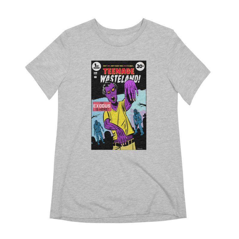 Teenage Wasteland Women's Extra Soft T-Shirt by Krishna Designs